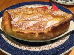 Baked French Pear Pancake