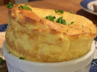 Cheesy Egg Souffle