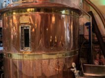 Beer vat at New York Beer Project