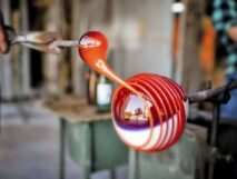 Glass blowing in New York at the Corning Museum of Glass just one hour from the 1795 Acorn Inn Bed and Breakfast